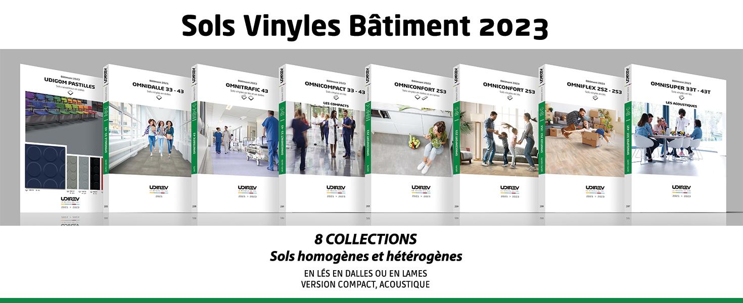 Sols vinyles Bâtiment 2023