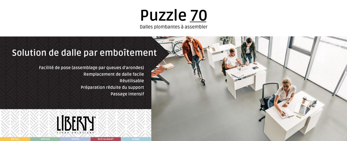Liberty Puzzle 70